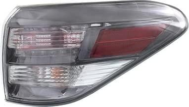Crash Parts Plus Right Passenger Side Tail Light Tail Lamp for 2010-2012 Lexus RX350