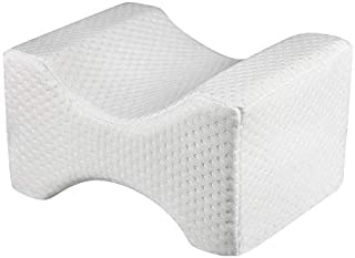 Leg Positioner Knee Pillow - Made from Memory Foam - Removable and Washable Cover - Promotes Better Sleep, Improve Blood C...
