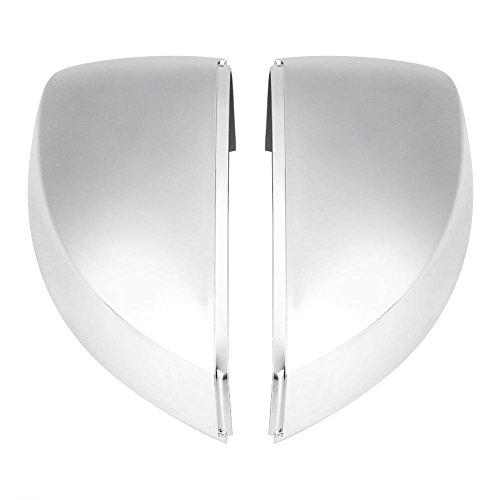 Copriobiettivo Copri-guscio Copri - specchio Opaco Cromato per A3 S3 8V 13-18 1 paio di Delaman