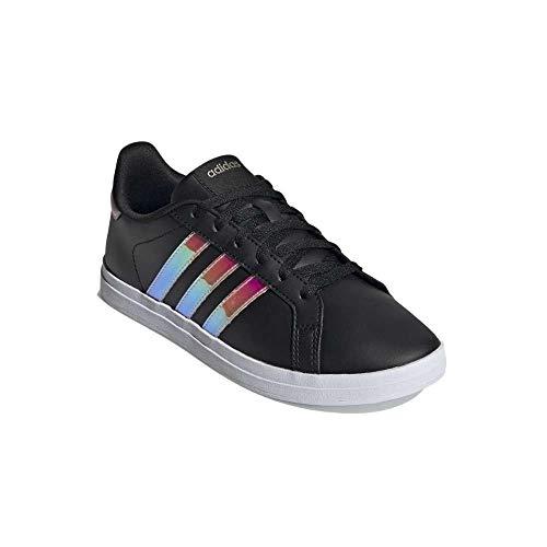 adidas Women's COURTPOINT Tennis Shoes, Negbás Irides Roscla, 8 UK