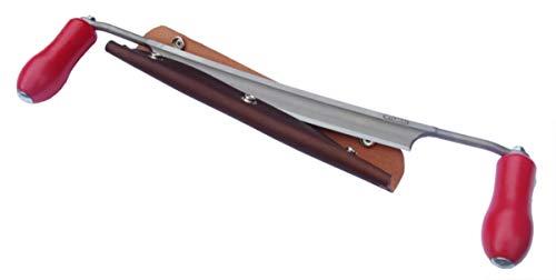Stubai Drawknife - Made In Austria - With American Made Leather Sheath