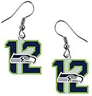NFL Seattle Seahawks 12th Man Earrings