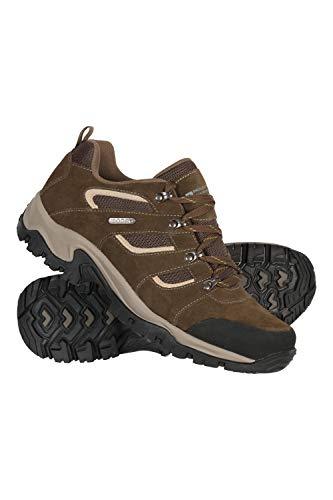 Mountain Warehouse Voyage Wasserfeste Schuhe für Herren - Leicht, schnelltrocknend, Wanderstiefel, Eva-Zwischensohle, Netzstoff, Laufschuhe, Laufsohle Gummi - Für Reisen Braun 45