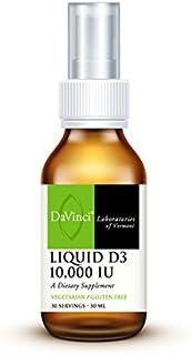 Davinci Labs - Liquid D3 10,000 IU 30 Servings 30ml