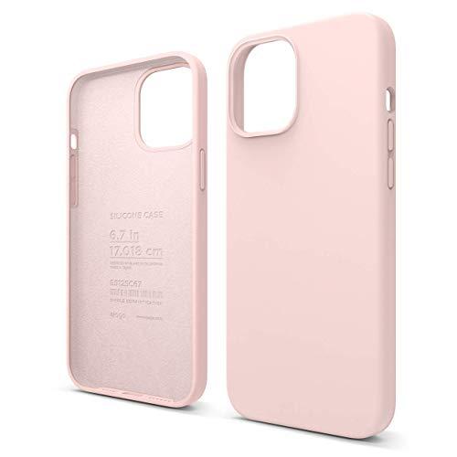 """Elago Silicone Liquido Custodia Cover Compatibile con iPhone 12 PRO Max Case (6.7""""), Silicone Liquido Premium, Protezione Full Body : Case Antiurto 3"""