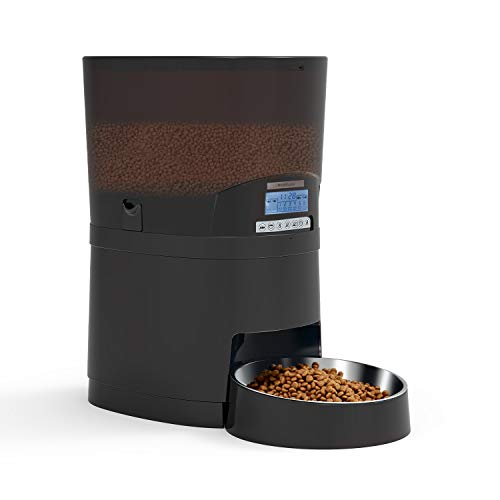 WellToBe Automatic Cat Feeder, Pet Feeder 7L Food Dispenser for Dogs and Cats-Programmable Timer for up to 6 Meals per...