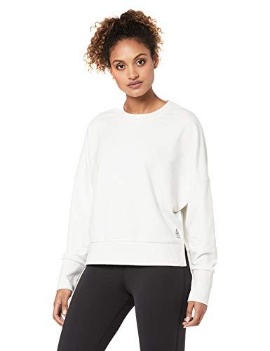 Reebok Rc Terry Crew Damen-Sweatshirt XS whtmel