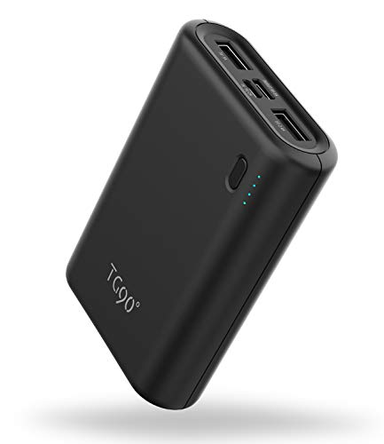 Portable Charger External Battery Packs TG90 10000mah USB C Power Bank, 15W Max Power Delivery Portable Battery Charger Compatible with iPhone Android Phones MacBook Tablets