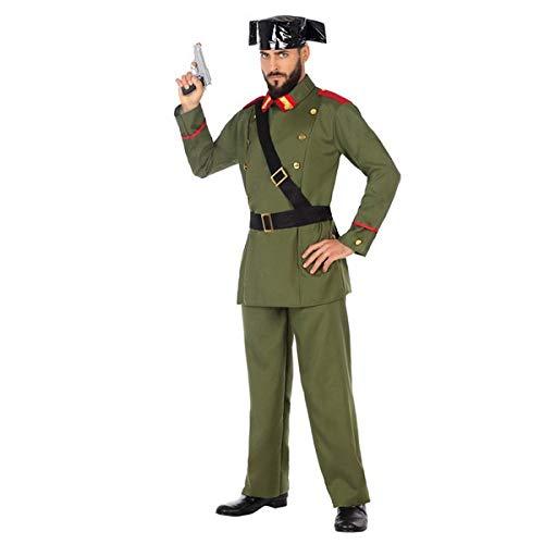 Disfraz para hombre de la Guardia Civil (4 piezas)  Un cosuter talla  XS/S