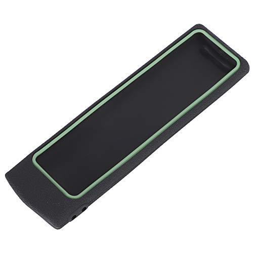 Mxzzand Protector Control Remoto de TV No tóxico Estuche Protector Antideslizante Paquete Completo Duradero Diseño de Ajuste Silicona Eficaz a Prueba de Golpes para(Black+Fluorescent Green)