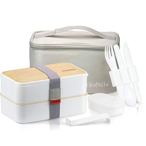 Bento Box Sushi Giapponese Portapranzo Ermetico Lunchbox Japan Frigo Microonde Lavastoviglie Posate