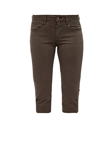 Q/S designed by - s.Oliver Jeansshorts Shorts, Damen, Braun 36 EU