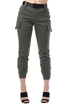 olive cargo pants juniors