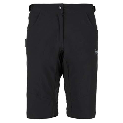 Kilpi Women's Trackee Mountain Bike Short Black Size UK 18