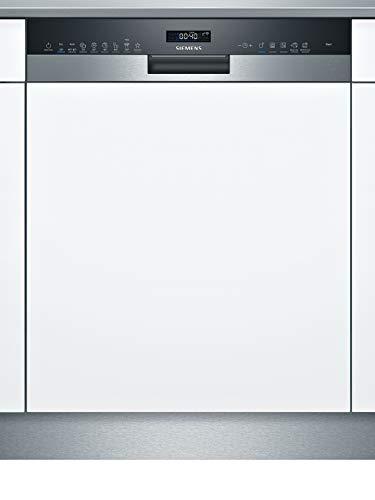 Siemens SN55ES57CE iQ500 Teilintegrierter Geschirrspüler/A++ / 266 kWh/Jahr / 2660 L/Jahr/WLAN-Fähig über Home Connect/varioSpeed Plus/Glas 40° Programm Edelstahl