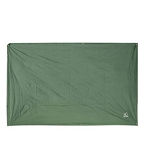 HoneybeeLY - Telo da campeggio per amaca, tenda da picnic, 240 x 220 cm, portatile, leggero, impermeabile, antivento e neve, ideale per campeggio, viaggi all\'aperto