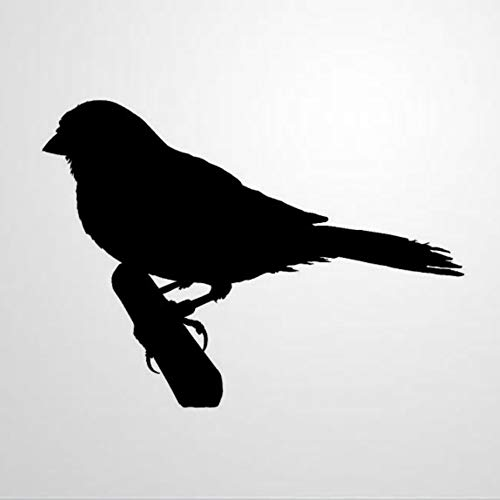 Laptop Aufkleber mit Finken Silhouette Vogel lustiger Vinyl Aufkleber fur Laptop Notebook Computer Aufkleber gestanzt Autoaufkleber Geschenk