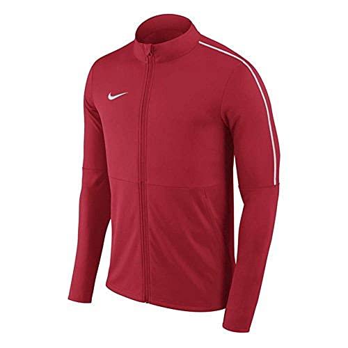 NIKE Y Nk Dry Park18 Trk Jkt K Sport Jacket, Unisex niños, University Red/White/(White), S