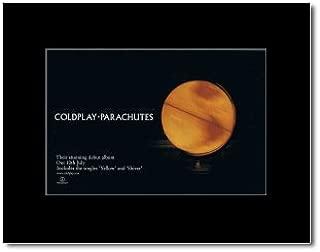 coldplay parachutes poster