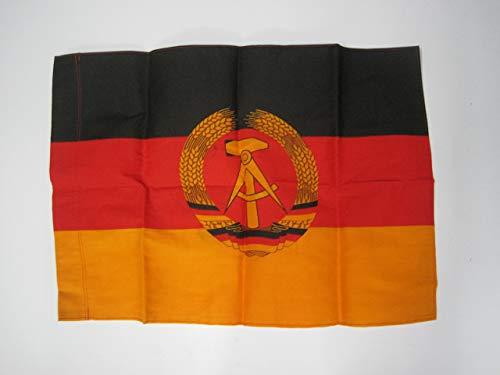 LAGERMAULWURF.de Originale DDR Fahne klein 60 cm + 40 cm Mottoparty Ostalgie DDR FDJ