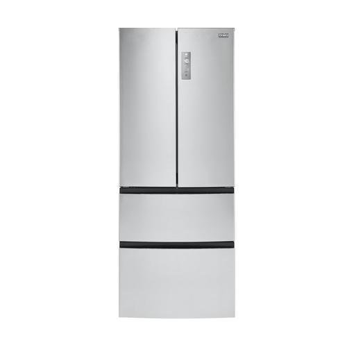 "Image of Haier 15-Cu.-Ft. French-Door Refrigerator 28"" width Stainless Steel HRF15N3AGS: Bestviewsreviews"