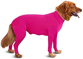 Shed Defender Original Dog Onesie - Seen On Shark Tank, Contains Shedding of Dog Hair for Home, Car, Travel, Anxiety Calmi...