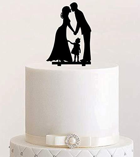 Cake Topper, Tortenstecker, Tortenfigur Acryl, Tortenständer Etagere Hochzeit Hochzeitstorte Art.Nr. 5125