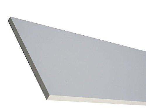 Regalboden Brett weiß 120x40 cm Holzbrett 19mm stark /1 Stück Einlegeboden