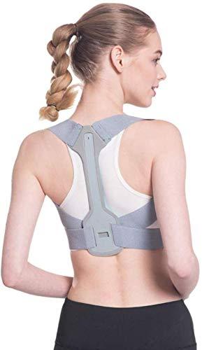 YONGYONGCHONG Haltungstrainer Weibliche Körperhaltung Korrektor Rückseite Körperhaltung Korrektor Einstellbare Stützgürtel Strecker Ausbildung Anti-Buckel-Korrektur (Size : Large)