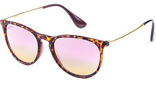 MSTRDS Unisex Jesica Sonnenbrille, Mehrfarbig (havanna/rosé 5149), (Herstellergröße: one size)