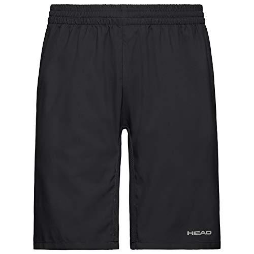 HEAD Jungen Club Bermudas B Shorts, Black, 140 EU