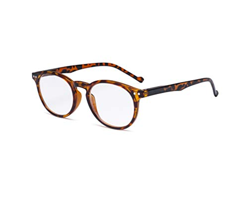 Eyekepper Oval Spring Hinges Ladies Reading Glasses +0.50 Tortoise Frame...