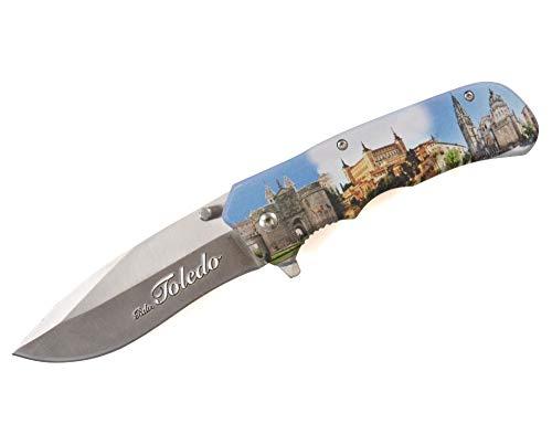 Albainox Einhandmesser Toledo mit Holzgriff Taschenmesser Freizeitmesser