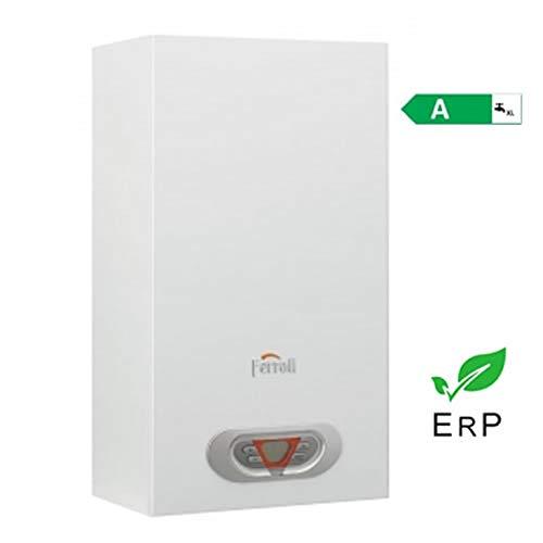 Ferroli SKY F Eco - Calentador de agua (14 L), color metano/GLP