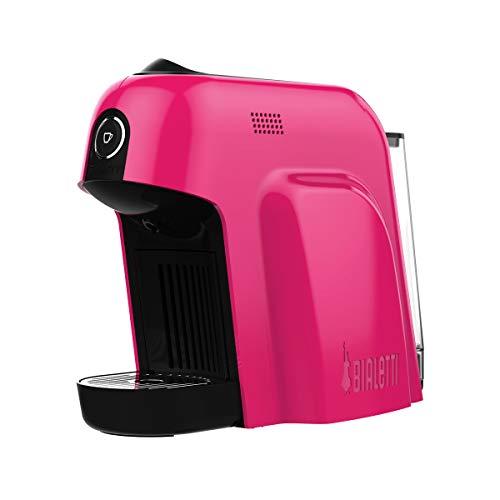 Bialetti Smart - Cafetera expreso para cápsulas de aluminio, 1200 W, color rosa