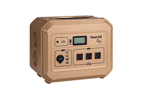 ポータブル電源 PowerArQ Pro コヨーテタン(1000Wh/46.4Ah/21.6V/正弦波 100V 日本仕様 蓄電池) 正規保証2年