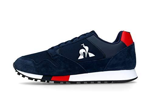 Le Coq Sportif Manta, Zapatillas Hombre, Dress Blues/Pure Red, 43 EU