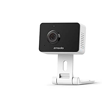 [2021 Upgrade]Zmodo 1080P Mini Pro Plug-In WiFi Indoor Security Camera Human/Vehicle/Pet Motion Detection Baby Monitor Nanny Camera Two-Way Audio Night Vision Work with Alexa