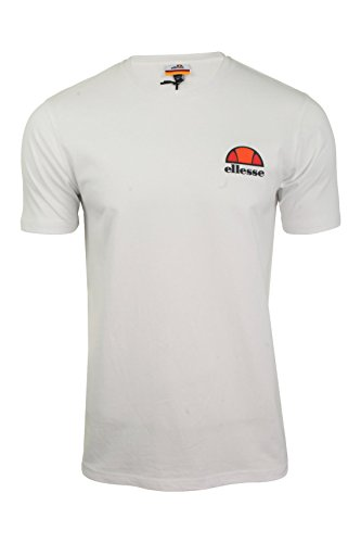 ellesse T-Shirt Herren Canaletto T-Shirt Optic White, Größe:L