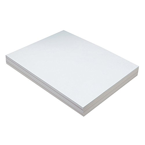 Pacon PAC5211BN Heavyweight Tagboard, White, 9