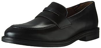 Bostonian Men s Mckewen Step Penny Loafer Black Leather 10 Medium US