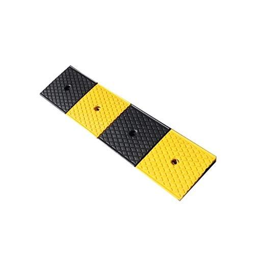 ZYLZL Rampas, Caucho Paso Almohadilla, Estacionamiento Supermercado Umbral Almohadilla Eye-Catching Safety Triangle Pad Sedan Silla de Ruedas Triángulo Pad Ramps Dog Ramps,100 * 25 * 4Cm