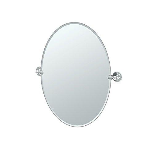 Gatco 4419 Cafe Oval Mirror, 26.5 H x 24 W