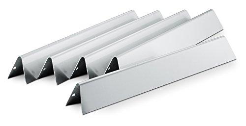 Weber Flavorizer Bars Genesis série S Acier Inoxydable Lot de 5, Noir, 17,6 x 2.2 x 9.65 cm, 7620