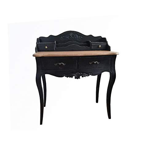 HTI-Line Sekretär Corby Ablagetisch Dielentisch Tisch Schminktisch Antik Stil Shabby Look Schreibtisch Laptoptisch Konsole