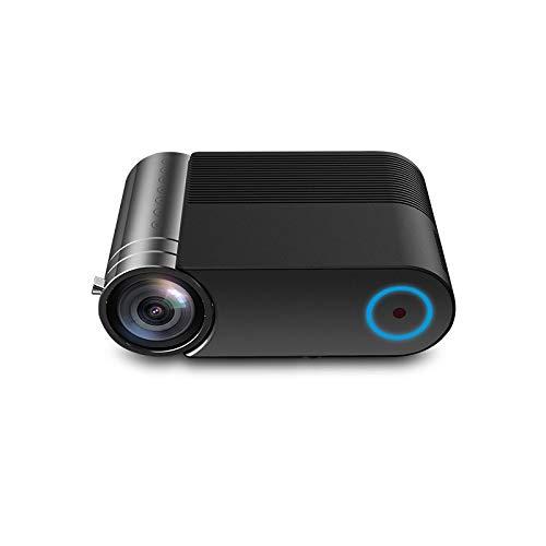 BOXIANGY Teléfono móvil con Pantalla proyector hogar Microproyector LED HD 1080