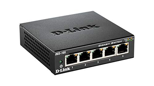 Switch Gigabit Ethernet switch gigabit  Marca D-Link