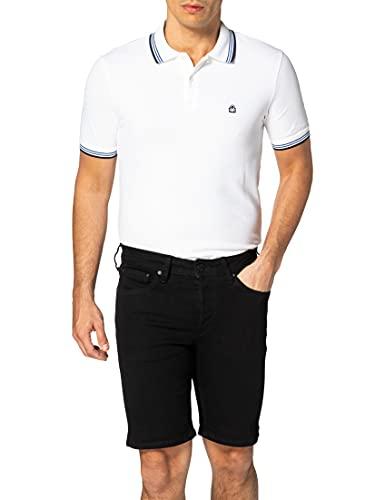 JACK & JONES Herren JJIRICK JJORIGINAL NA 029 Jeans Shorts, Black Denim, M