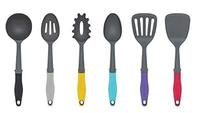 Frigidaire 11FFTOOL01 Ready Cook Utensils, 6-piece, Grey, 6 Piece