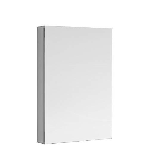 AQUADOM Royale Medicine Mirror Glass Cabinet for Bathroom (24in x 40in x 5in)